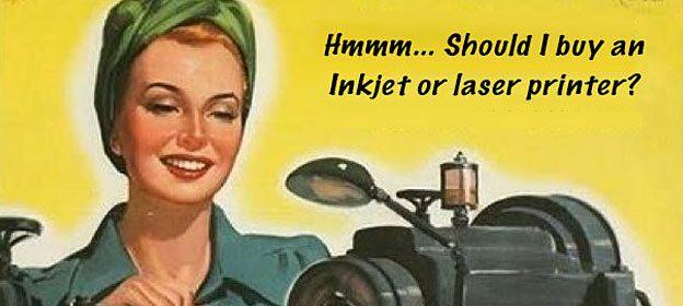 inkjet or laser printer better