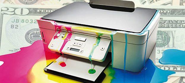 printer waste ink cost