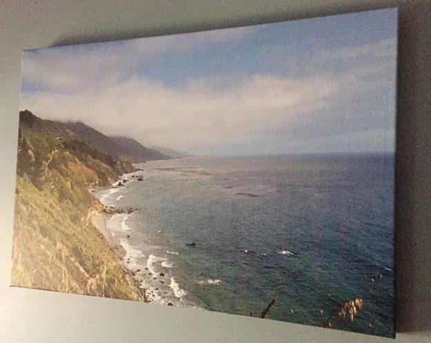 vistaprint canvas print