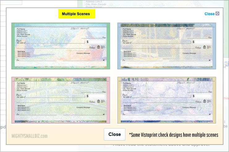 vistaprint check designs van gogh