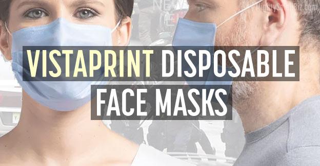 vistaprint disposable masks