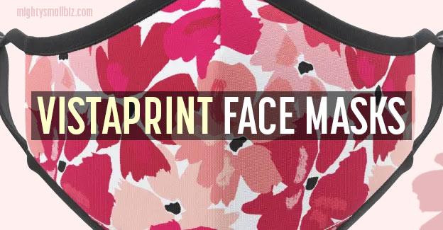 vistaprint face masks
