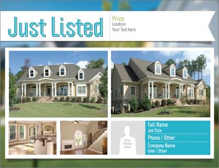 vistaprint flyers real estate