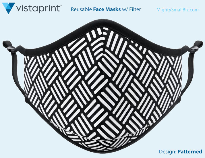vistaprint mask design pattern
