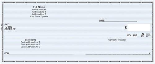 vistaprint plain checks