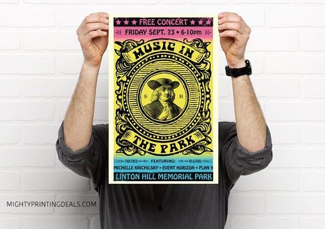 vistaprint poster sample