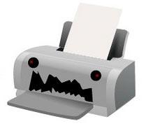 wasteful printer