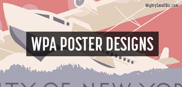 wpa poster designs