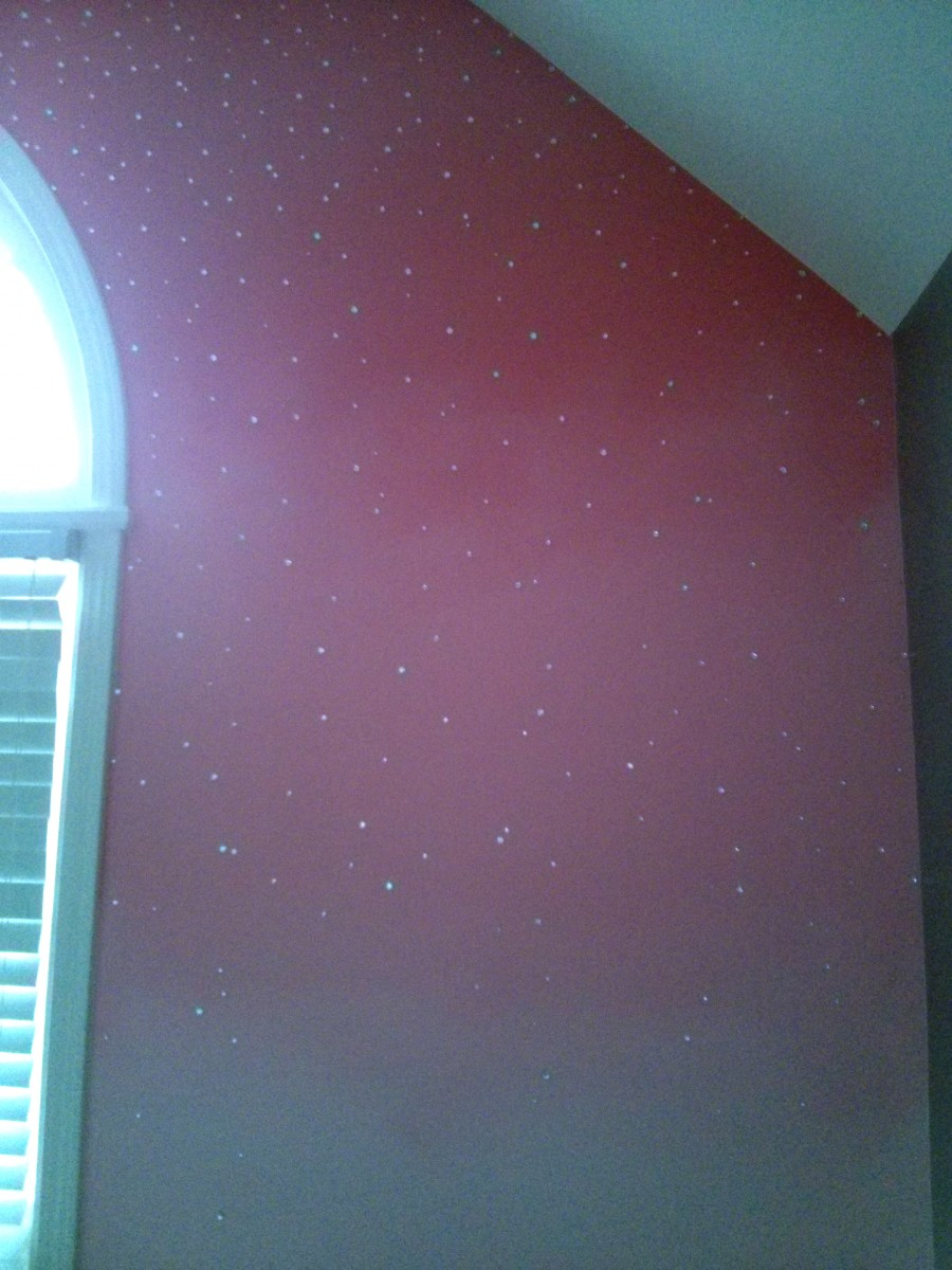 Kids Faux Colorwash Ombre with Rhinestones