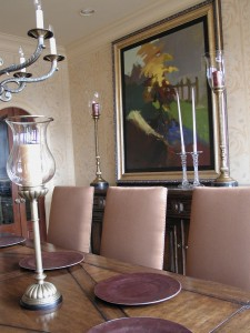 Texture - Venetian Plaster with colorwashed damask design