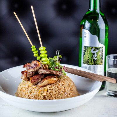 COCO Delray Sushi Lounge & Bar - Fried Rice with beef