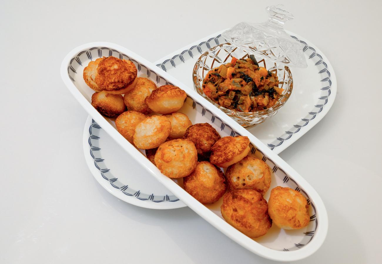 Savory Rice Donuts