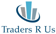 """Logo used for the fictitious """"TradersRUs"""", for the affiliate landing page"""