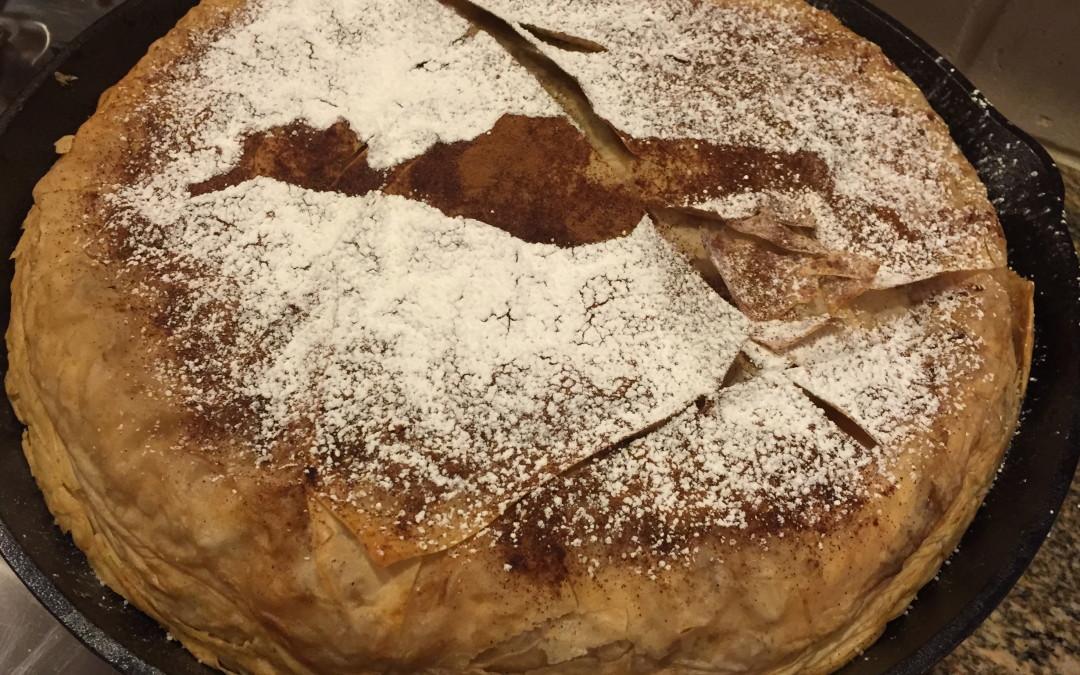 Bstila (Chicken Almond Pie)