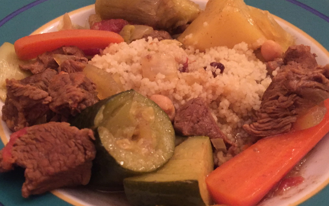 Moroccan Lamb and Vegetable Couscous