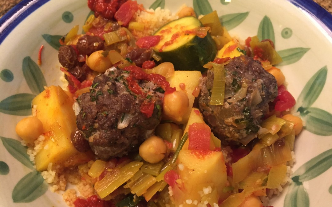 Keftas and Seven-Vegetable Couscous