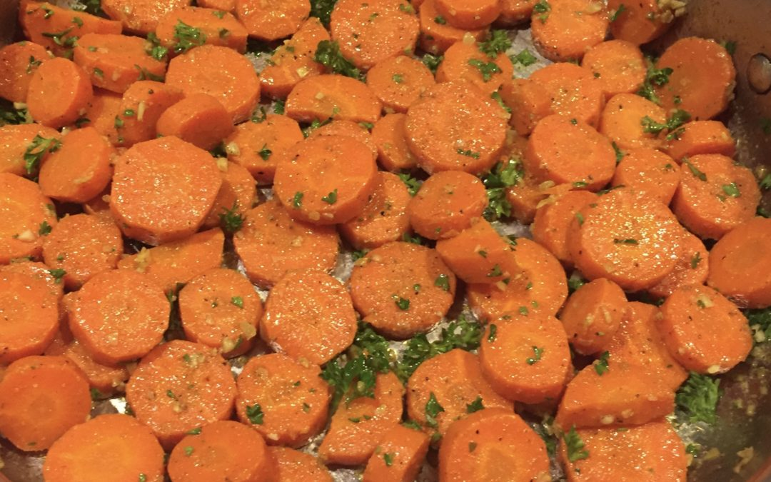 Moroccan Cooked Carrot Salad
