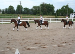 Rhoyal Quadrille at Student Show