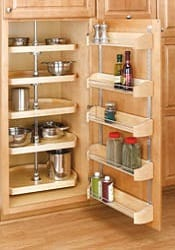 5 shelf corner lazy susan