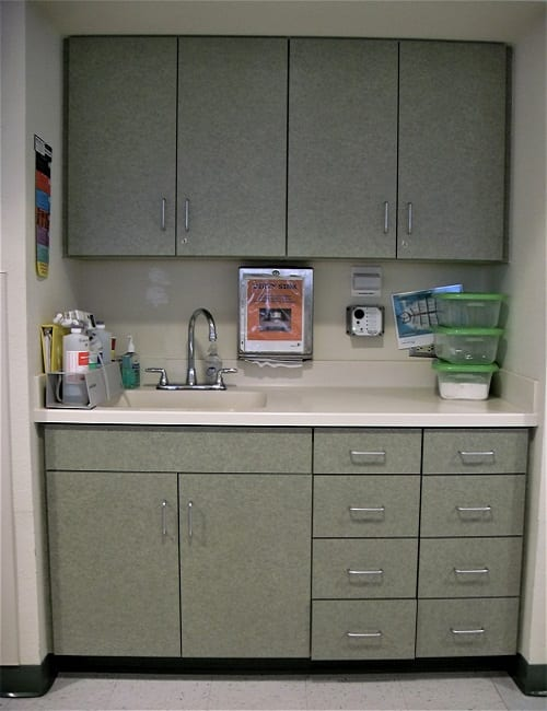 Hope Again Dialysis cabinets