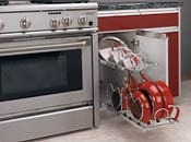 base cabinet pullout for cookware