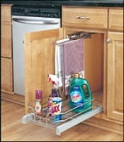 base cabinet pullout premier single wire basket