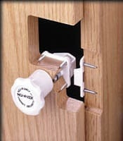 cabinet lock security system
