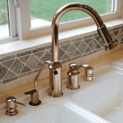 faucet with 5 options