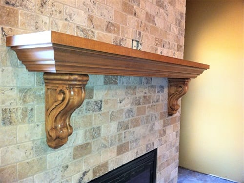Mantle by S&W Cabinets
