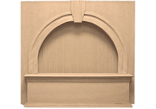 Keystone Bead Board Mantle