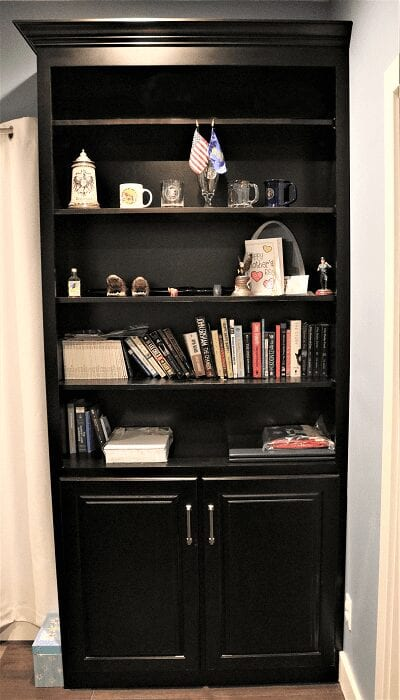 Michael and Christina's Office Bookcases