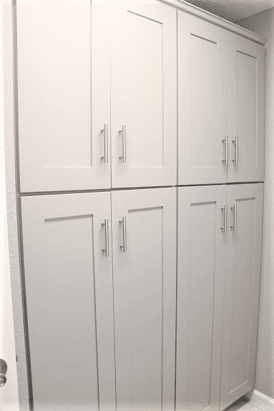 Neumeyer Laundry Room Cabinets Project