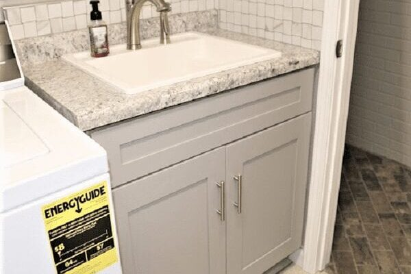 Neumeyer Laundry Room Sink Project