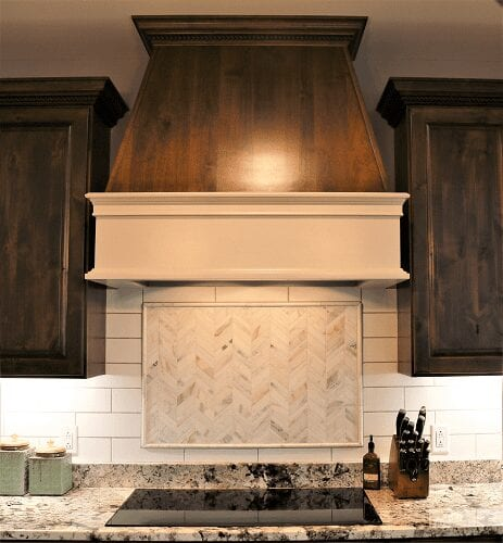 Zach & Jacklyn Essner Kitchen project Range Hood by S&W Cabinets