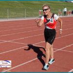 Renate Cheetham, race walker