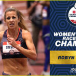 Robyn Stevens, women's 3000M race walk champion, 2020 USATF Indoor Championships