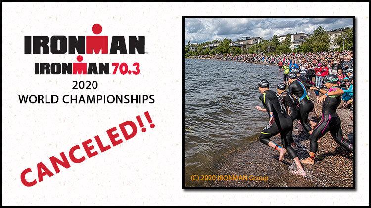 IRONMAN cancels world championship. Photo credit IRONMAN.COM