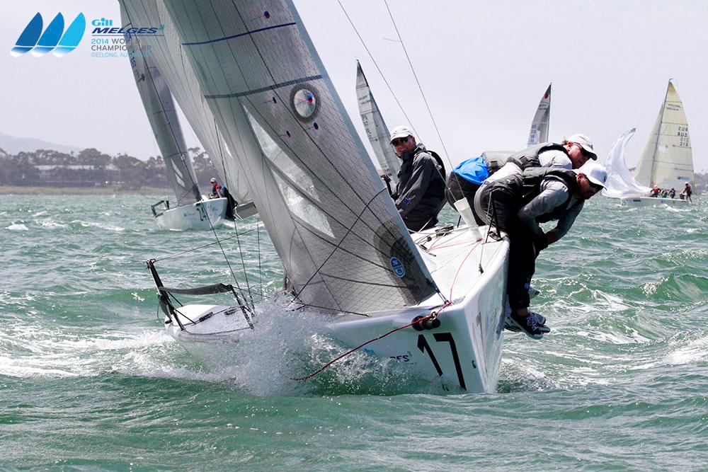 Favini takes lead over Melges and Larson