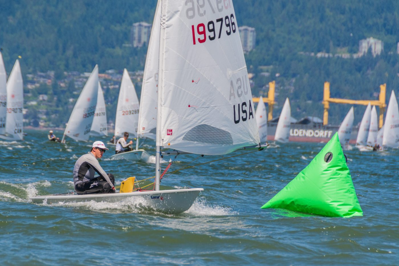 Malcolm Lamphere Wins Laser North Americans