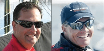Andy Burdick and Harry Melges III inducted into ILYA Hall of Fame