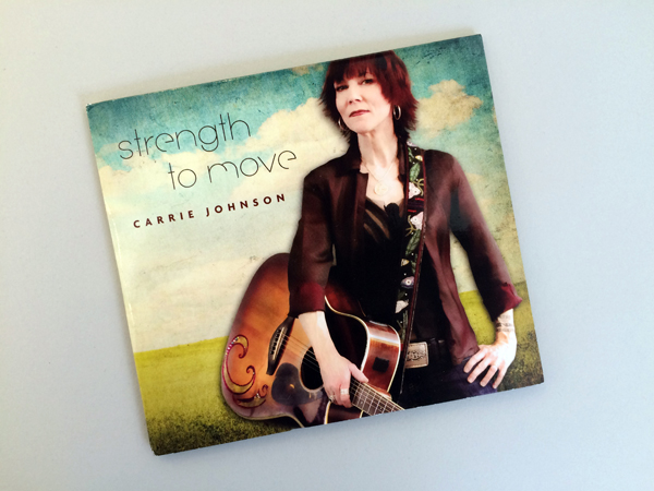 """Carrie Johnson """"Move the Sun"""" – CD Package Design"""