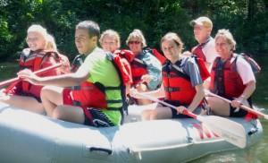 Youth Raft Trip