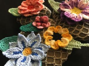 Crocheted Rock Garden