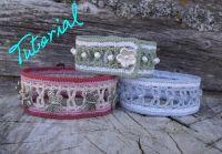 Crochet Jewelry - Beads and Ladders Bracelet