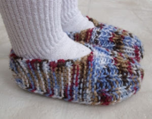 How to Knit Children's Slippers - Free Knitting Pattern