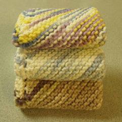 Basic Dishcloth knitting Pattern