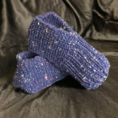 How to knit adult slippers - Free Knitting Pattern