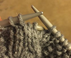 Cable 2 back knitting