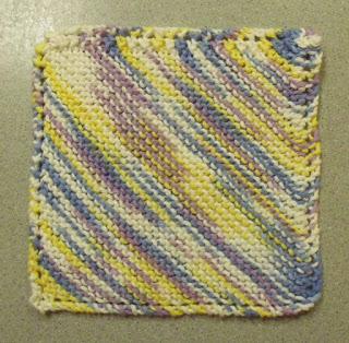 Basic Dishcloth knitting Pattern