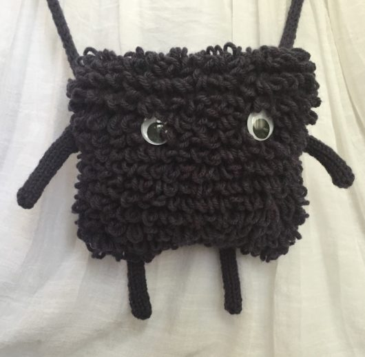 Knitted Monster Purse Pattern